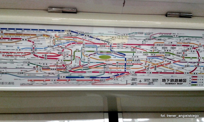 Bardzo klarowna mapa metra:D