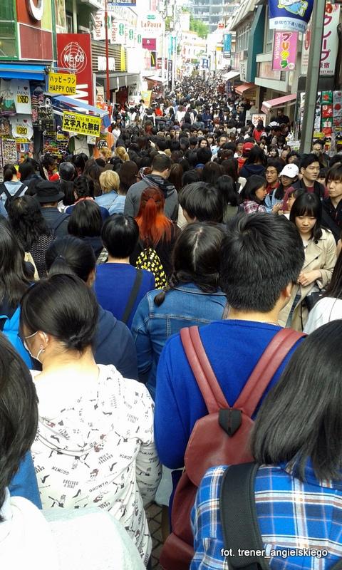 Takeshita Street - robienie tu zakupów było nie lada wyzwaniem