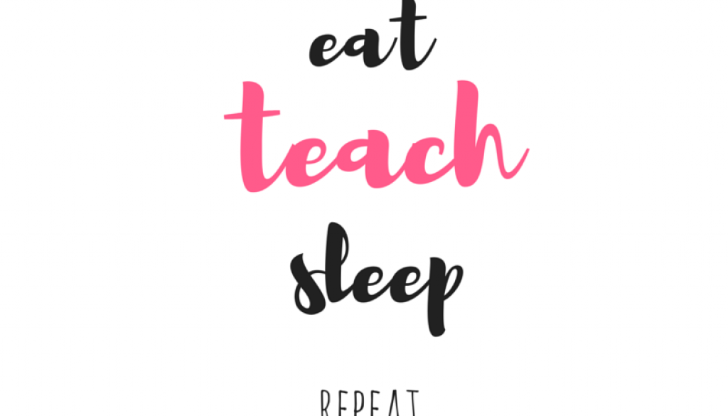 eat teach sleep